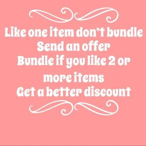 Like 1 item send offer, like 2 or more make bundle